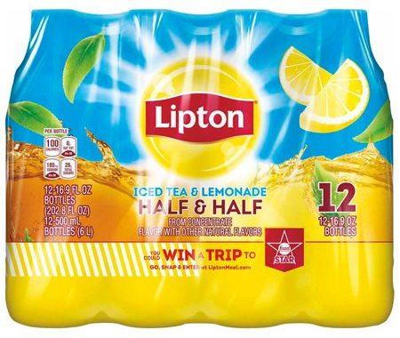 Save $2.00 off (2) Lipton Iced Tea (12-Packs) Printable Coupon