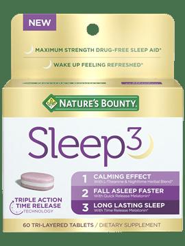 Save $5.00 off (1) Nature's Bounty Sleep3 Printable Coupon