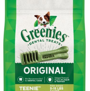 Save $5.00 off (1) Greenies Dental Dog Treats Printable Coupon