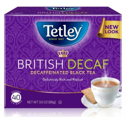 Save $1.50off (2) Tetley Tea Printable Coupon
