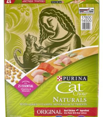 Save $2.00off (1) Cat Chow® Naturals Dry Cat Food Printable Coupon
