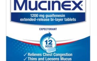 Save $5.00off (1) Mucinex Product Printable Coupon
