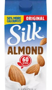Save $1.00 off (2) Silk AlmondmilkPrintable Coupon