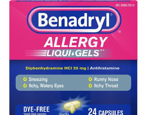 Save $1.00 off (1) Adult BENADRYL® Product Printable Coupon