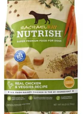 Save $2.50 off (1) Nutrish® Dry Dog Food Printable Coupon