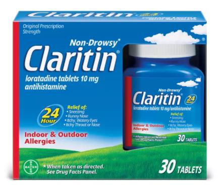 Save $4.00 off (1) Claritin® Printable Coupon