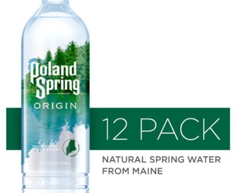 Save $1.00 off (1) Poland Spring Origin Printable Coupon